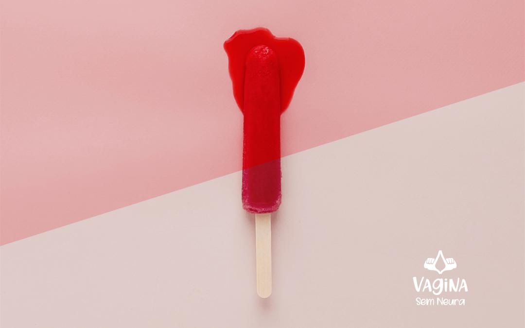 Como o sangue menstrual sai do útero